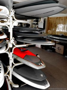 Rack of Paddle Boards