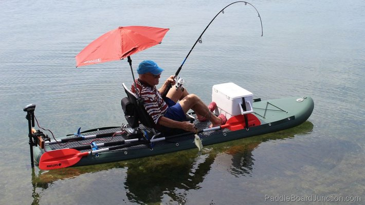Paddle Board Fishing Accessories - The Works!