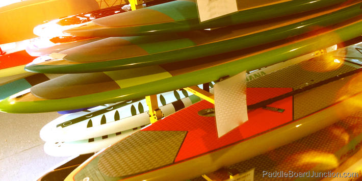 Stack of Paddle Boards : Paddle Board Types