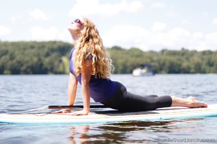 Upward Dog - Yoga on Paddle Board | PaddleBoardJunction.com