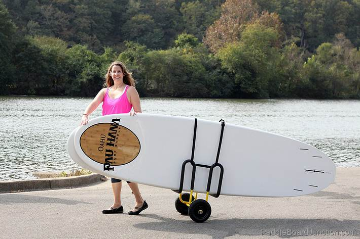 multi paddle board dolly
