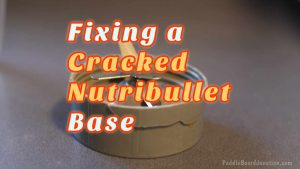 how to fix a cracked nutribullet base