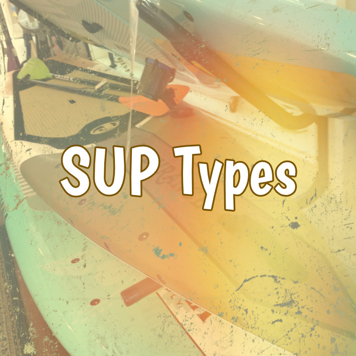Types of Paddle Boarding