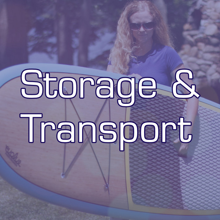 SUP how to Store & Transport your boards